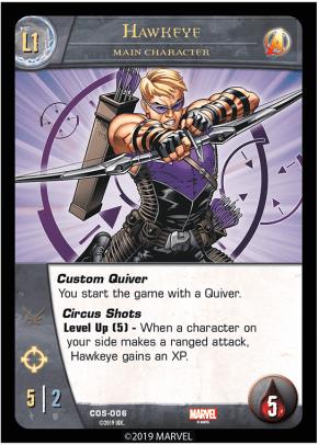 Hawkeye - Cosmic Avengers Vs System