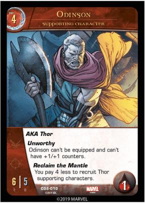 Odinson - Cosmic Avengers Vs System