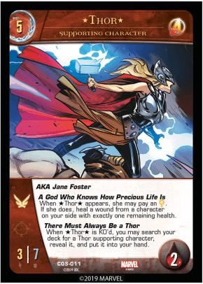 Jane Foster - Cosmic Avengers Vs System