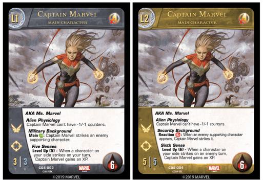 Carte Captain Marvel