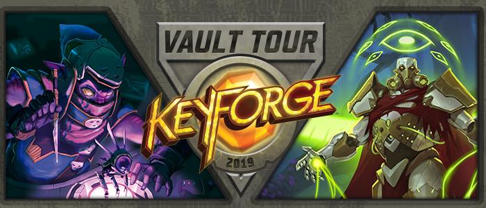 Keyforge vault tour 2019