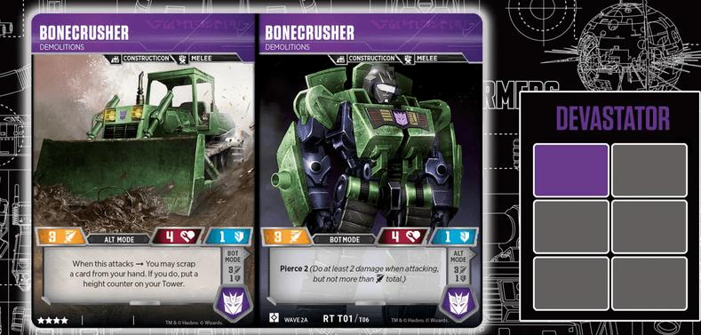 Transformers carte Bonecrusher
