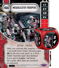 Carte Megablaster Trooper