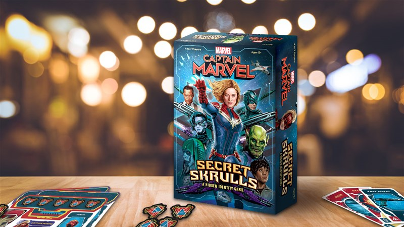 Jeu Captain Marvel Secret Skrulls