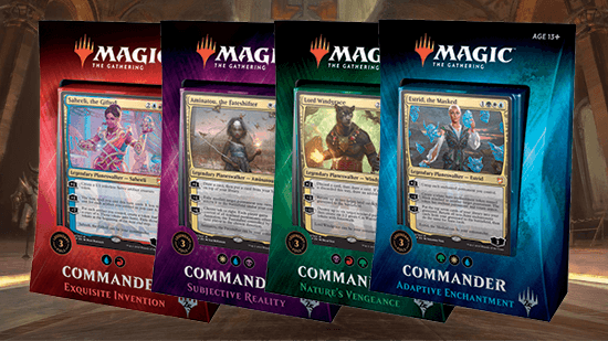 Magic Deck Commander deck  2019