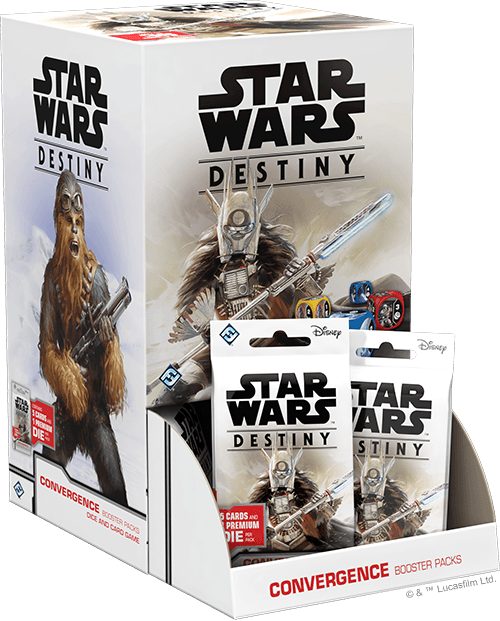 Boosters Pack Star Wars Destiny Convergence