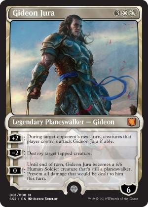 Carte Gideon Jura