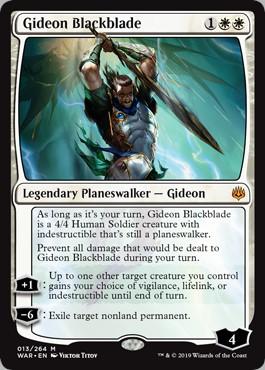 Carte Magic Gideon Lamenoire