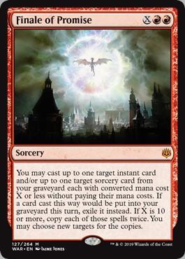 Carte Magic Summum de la Promesse