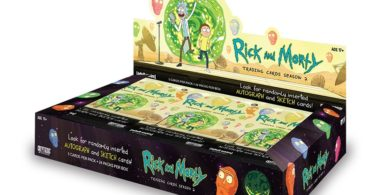 Cartes Rick et Morty Saison 2