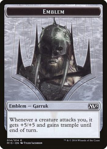 Emblême Garruk Prédateur au Zénith