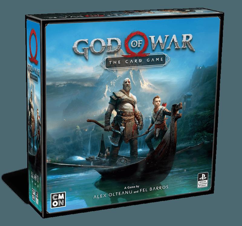 Boite de jeu God of War