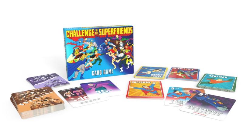 Jeu de cartes Challenge of the Super Friends