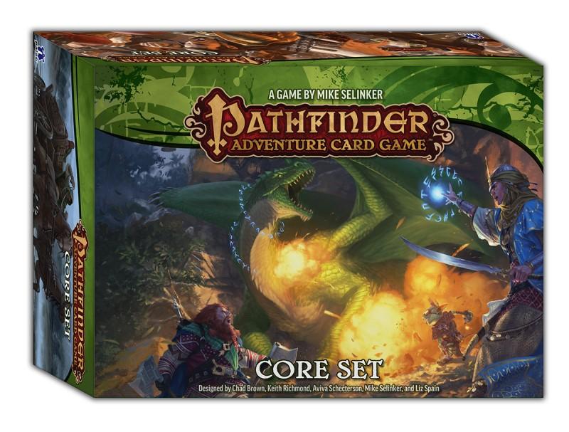 Jeu de cartes Pathfinder Adventure Set de base