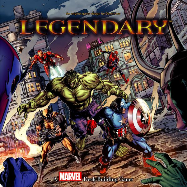 Marvel Legendary jeu de cartes