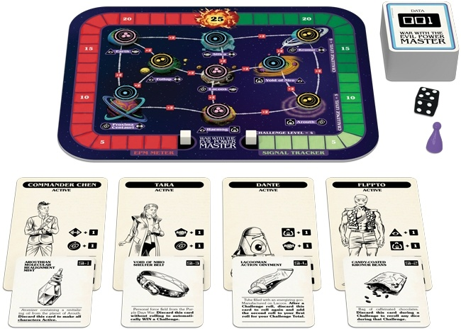 Cartes Z-Man Guerre avec le Maître du Pouvoir Diabolique