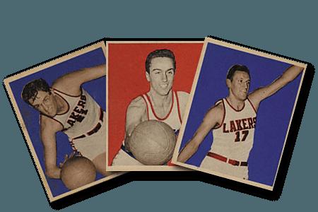 cartes de basketball avant 1970