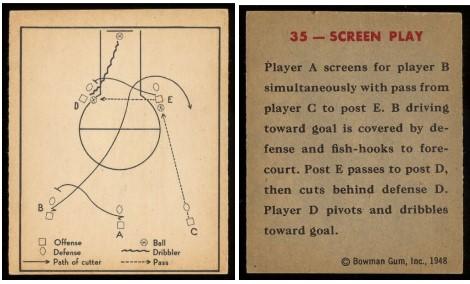 Carte Bowman 1948 : recto et verso