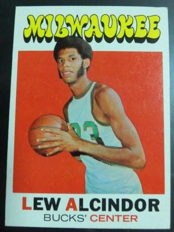 Carte Lew Alcindor 1972-1972