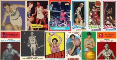 Cartes NBA avant 1970