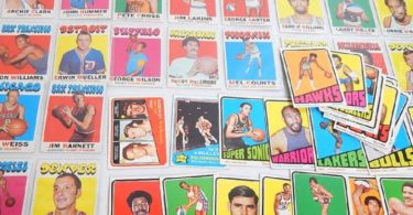 Cartes Topps Années 1970-1975