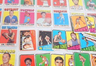 Cartes Topps Années 1970-1975