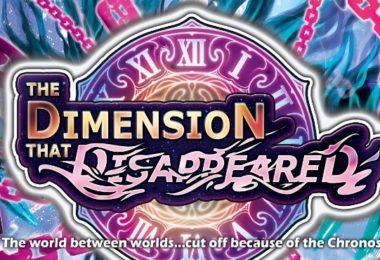 Jeu de cartes Exodus the Dimension that Disappeared