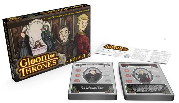 Jeu de cartes Gloom of Thrones