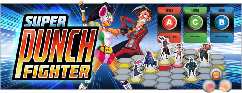 Jeu Super Punch Fighter