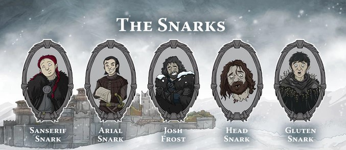 Gloom of Thrones - Maison Snark