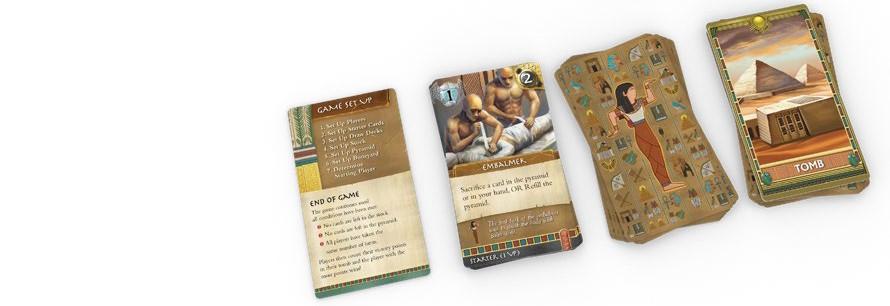 Cartes La Vallée des Rois Edition Premium