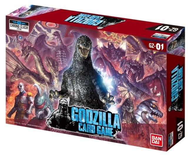 Jeu de cartes Godzilla de Bandai