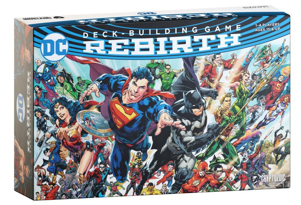 Boite de jeu DC Deck-Building Rebirth