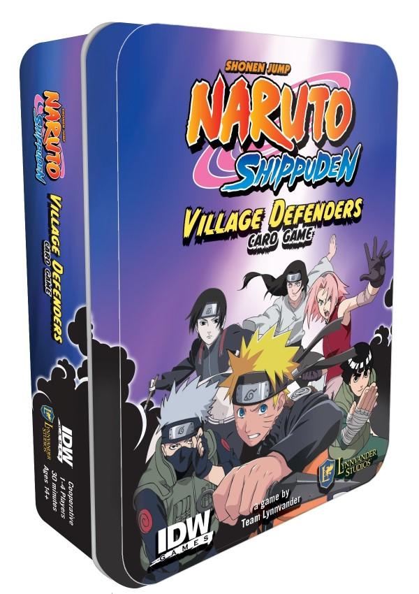 Boite de jeu Naruto Shippuden Défenseurs du Village