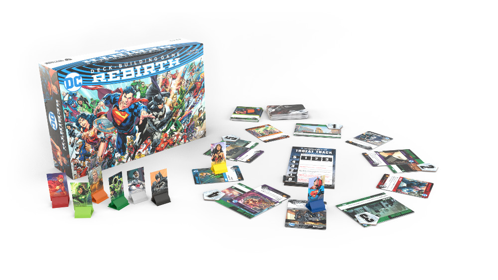 Jeu DC Deck-Building Game Rebirth
