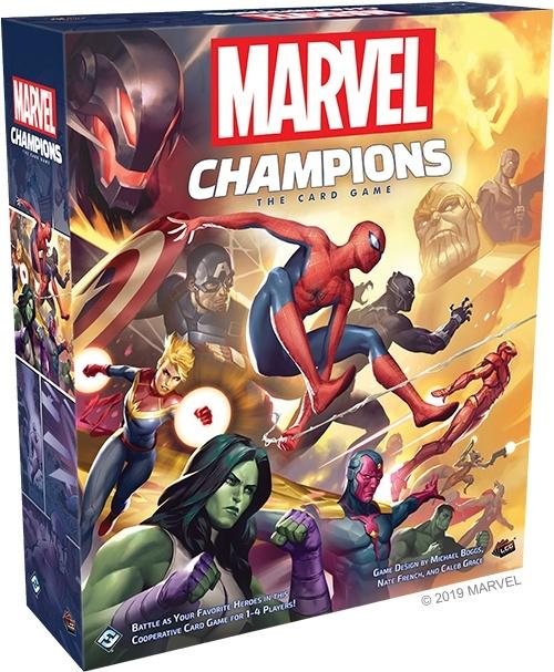 Marvel Champions la boîte de jeu