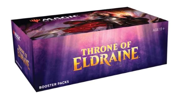 Boosters Box Le Trône d'Eldraine