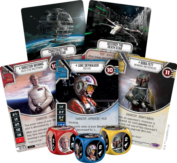 Cartes Star Wars Destiny Covert Missions