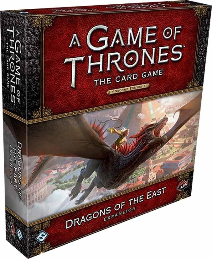 Boite de jeu Games of Thrones Dragons de l'Est