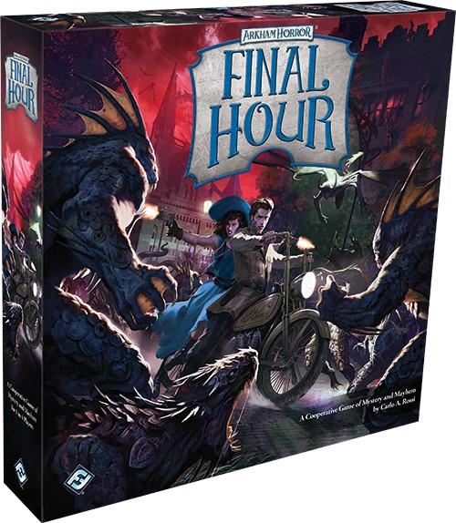 Boite de jeu Horreur à Arkham : Dernière Heure