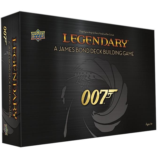 Jeu de cartes Legendary 007
