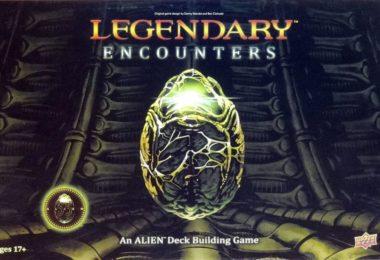 Legendary Encouters Alien deck building game