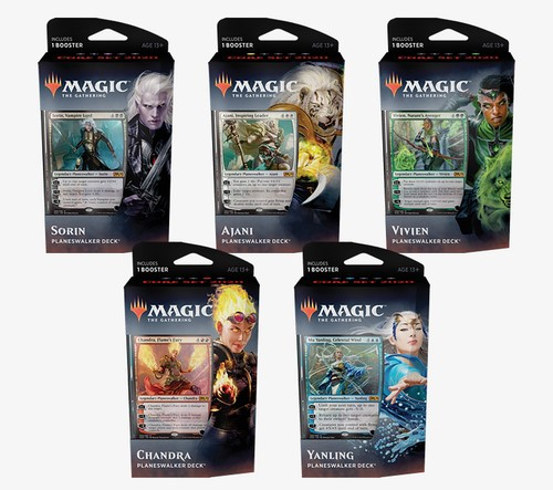 Decks de Planeswalkers Core Set 2020