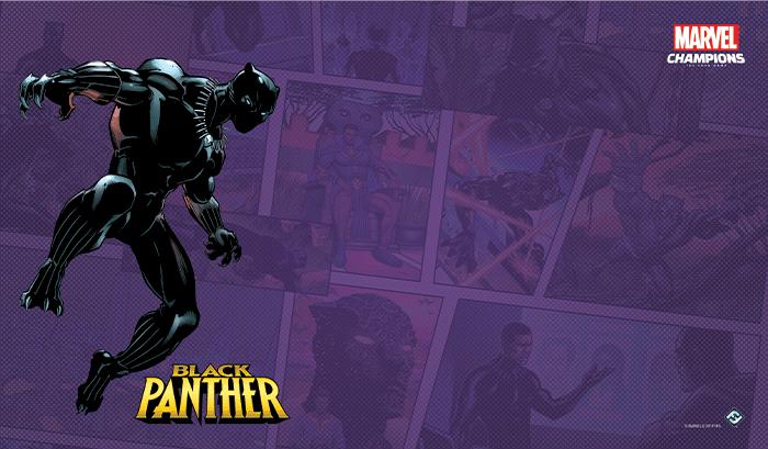 Tapis de jeu Marvel Champions - Black Panther