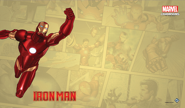 Tapis de jeu Marvel Champions - Iron Man