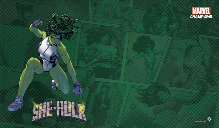 Tapis de jeu Marvel Champions - She Hulk
