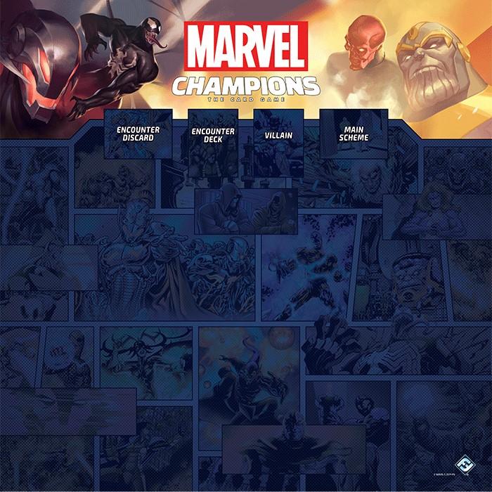 Tapis de jeu Marvel Champions - 1 à 4 joueurs