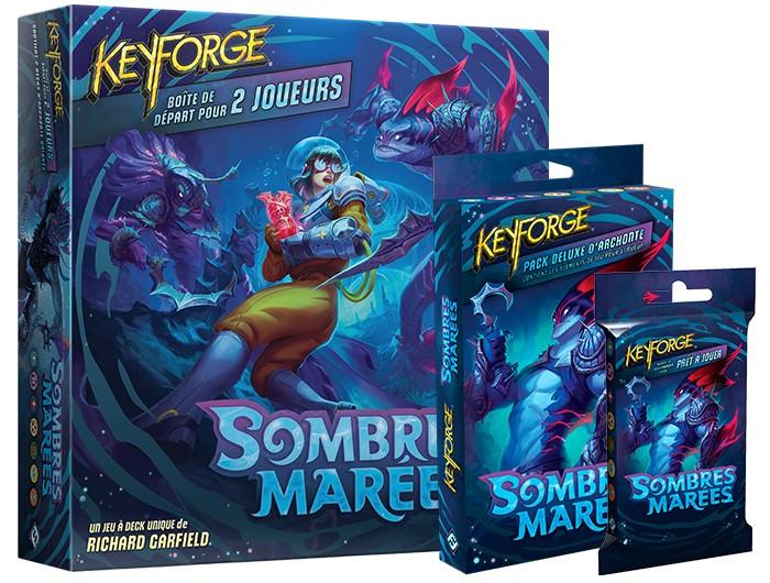 Acheter l'extension Keyforge Sombres Marées