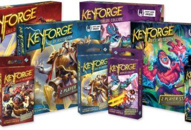 Toutes les boites de départ pour Keyforge