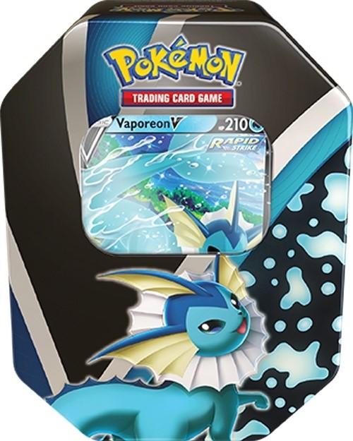 Boite en métal Vaporeon V Pokémon